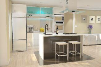 Podłoga kuchenna i zasada funkcjonalności