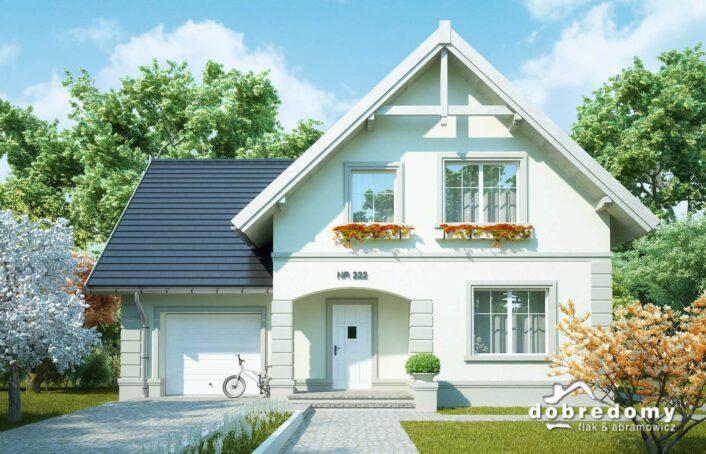 dom z poddaszem