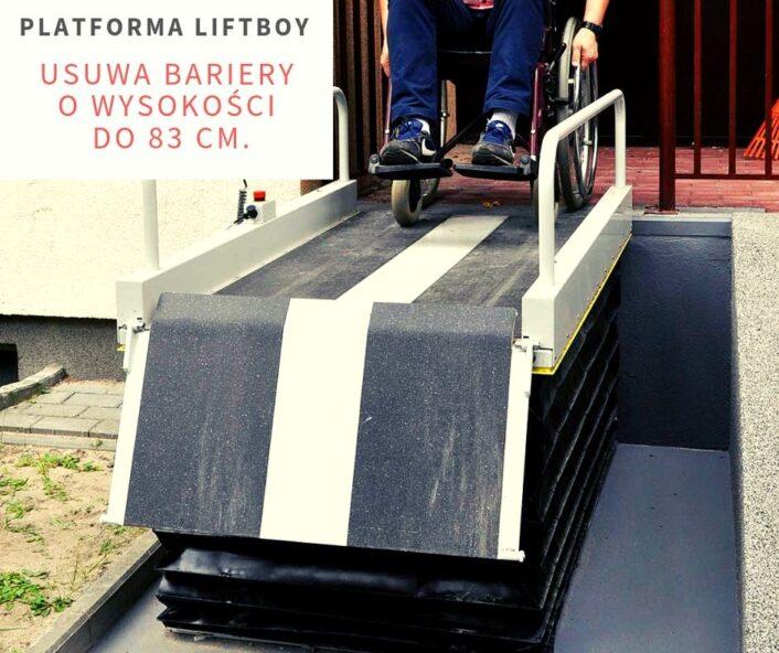 mała platforma dla niepełnosprawnych