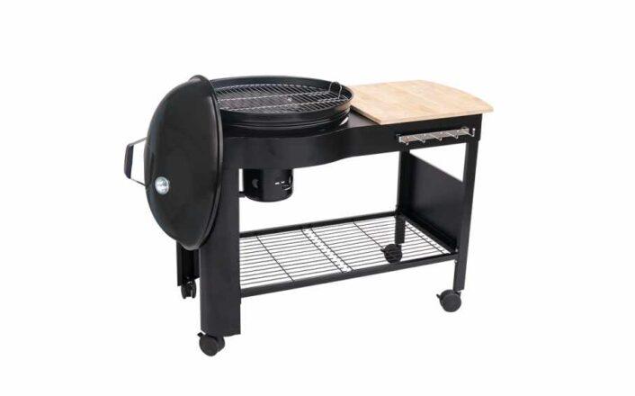 duży grill węglowy
