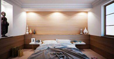 rzeźby w sypialni