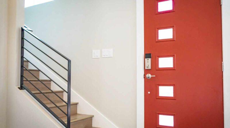 wejście do mieszkania